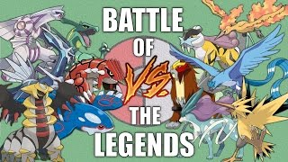 Battle of the Legends #1 - Pokemon Battle Revolution (1080p 60fps)