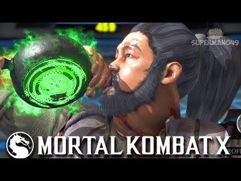 "The BEST DRUNKEN MASTER Bo Rai Cho Of ALL TIME - Mortal Kombat X: ""Bo Rai Cho"" Gameplay"