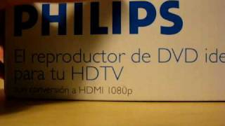 Phillips DVP5990 HDMI 1080p Upconverting DVD Player Unboxing