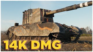 MAIN GUNS HER MAJESTY'S • FV4005 Stage II • WoT Gameplay