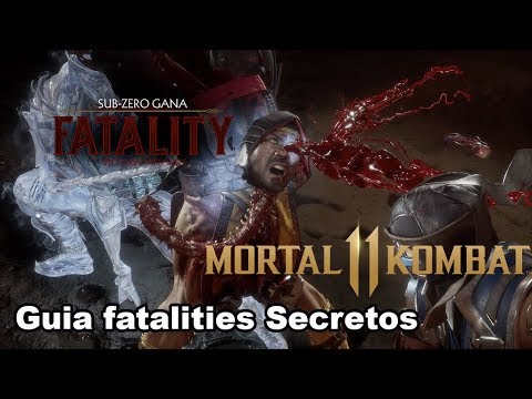 Guia fatalities Secretos Mortal Kombat 11 Como Hacerlos