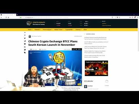 Daily Cryptocurrency News October 17th CCNN