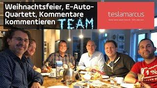TEAM teslamarcus Weihnachtsfeier, E-Auto-Quartett, Kommentare kommentieren