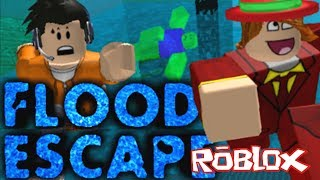 NEW ROBLOX FLOOD ESCAPE - Run for your life! The Funniest Roblox Escape!