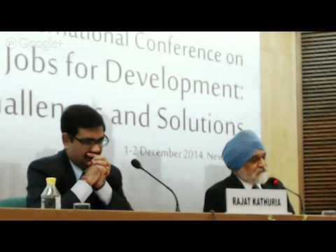 Special Address:Job Creation in India-International Lessons