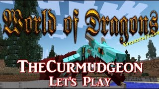 World of Dragons a Minecraft Mod - Who doesn't love Dragons?  Ep:1