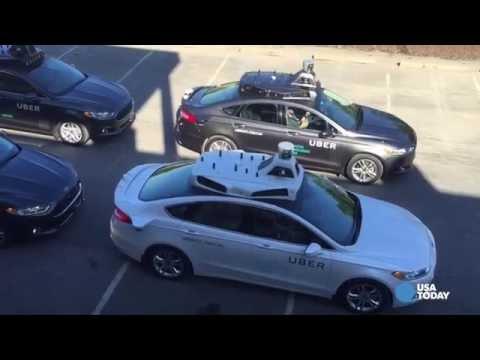 Uber self-driving car hits road in Pittsburgh