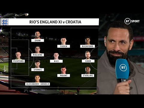 """It's like not playing Gazza! Grealish 𝗛𝗔𝗦 to play"" Rio Ferdinand picks his England XI for EURO 2020 - BT Sport"