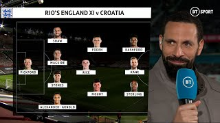 """It's like not playing Gazza! Grealish 𝗛𝗔𝗦 to play"" Rio Ferdinand picks his England XI for EURO 2020"