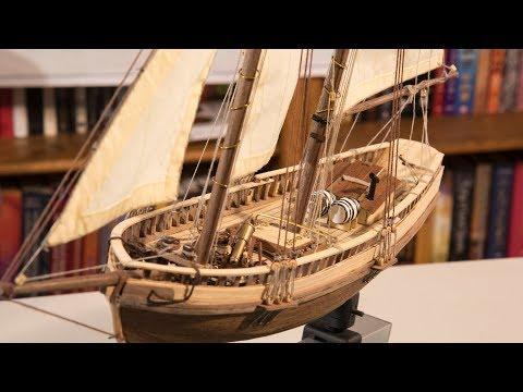 Virginia 1819 Model Boat