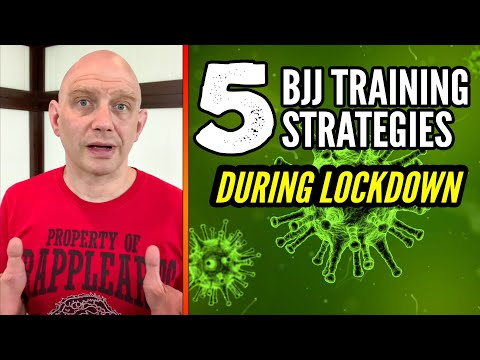 5 BJJ Training Strategies during Coronavirus Lockdown