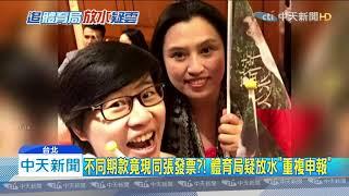 20191212中天新聞 柯府滅火不成 再被爆卡神核銷發票「重複申報」