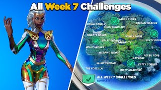 Fortnite All Week 7 Challenges Guide (Fortnite Chapter 2 Season 4)