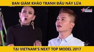 Ban giám khảo tranh cãi nảy lửa tại Việt Nam Next Top Model 2017