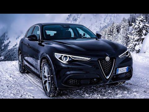 Alfa Romeo Stelvio (280hp) - DRIVE & SOUND (60FPS)