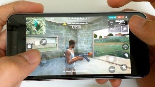 iPod Touch 5g: Gaming Performace Test in 2018 - Free Fire Gameplay