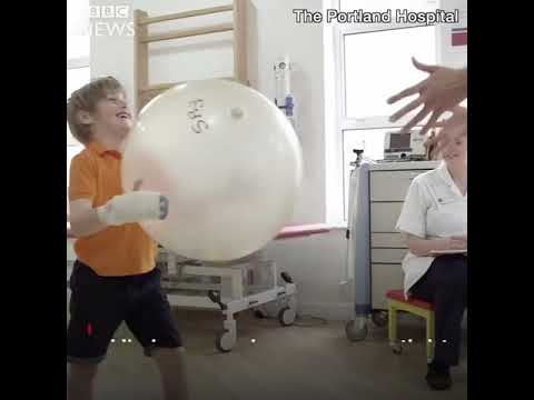 Jude wasnt going to let cerebral palsy stop him playing football
