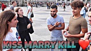 Kiss Marry or Kill?💋 Teenie Edition / Frauen Lieben dich dafür...