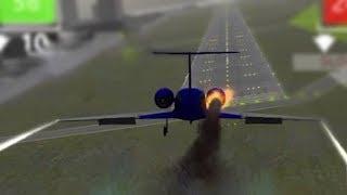 Trying To Land A Crashing Plane - MayDay Simulator
