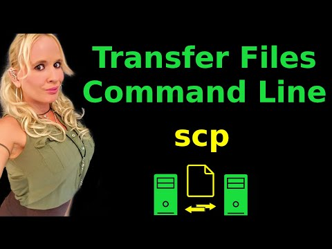 Command Line File Transfer | SCP On Ubuntu Linux Tutorial