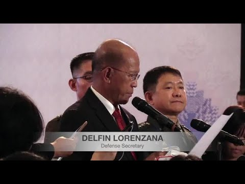 Lorenzana thanks countries that helped in liberation of Marawi