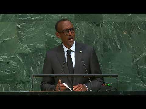 ONU - Discours de Paul Kagame, Président du Rwanda - 72e Assemblée Générale
