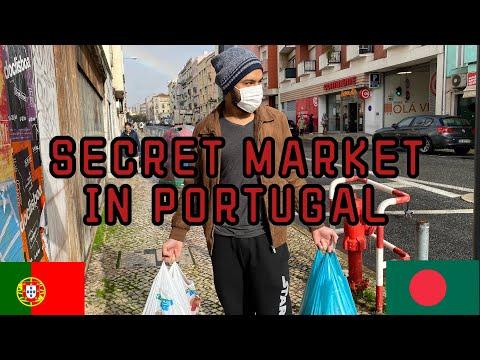 SECRET MARKET IN PORTUGAL || FISH MARKET IN LISBON || LOW COST FISH MARKET ||