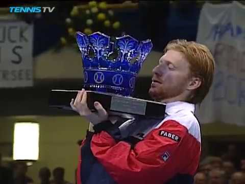 Boris Becker v Jim Courier Highlights | Frankfurt 1992 Final