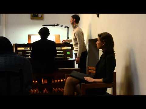 2015.11.07. Москва.Фрагмент органного концерта Баха в церкви св. Андрея