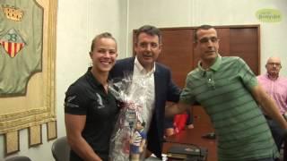 La novazelandesa Lisa Carrington pepara els Jocs de Rio a Banyoles
