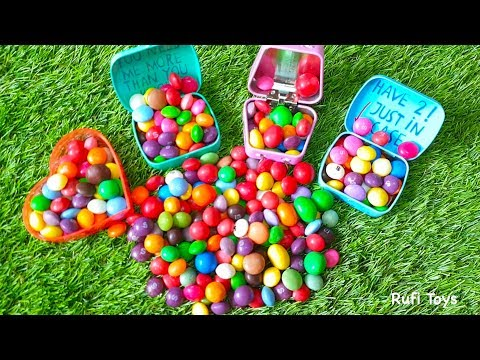Colorful Candy show and Learn Color with Pre School Toddler Rufi