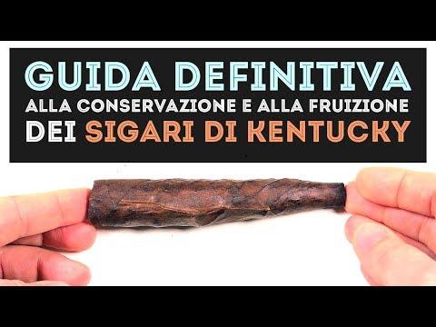 GUIDA alla conservazione e alla fruizione dei sigari di Kentucky