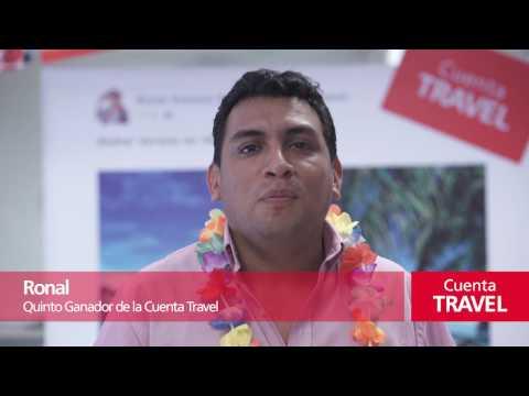 ¡Conoce al quinto ganador de la Cuenta Travel!
