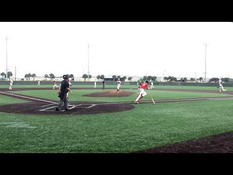 Justin Worley-double slides to 2nd - Elite Performance Baseball