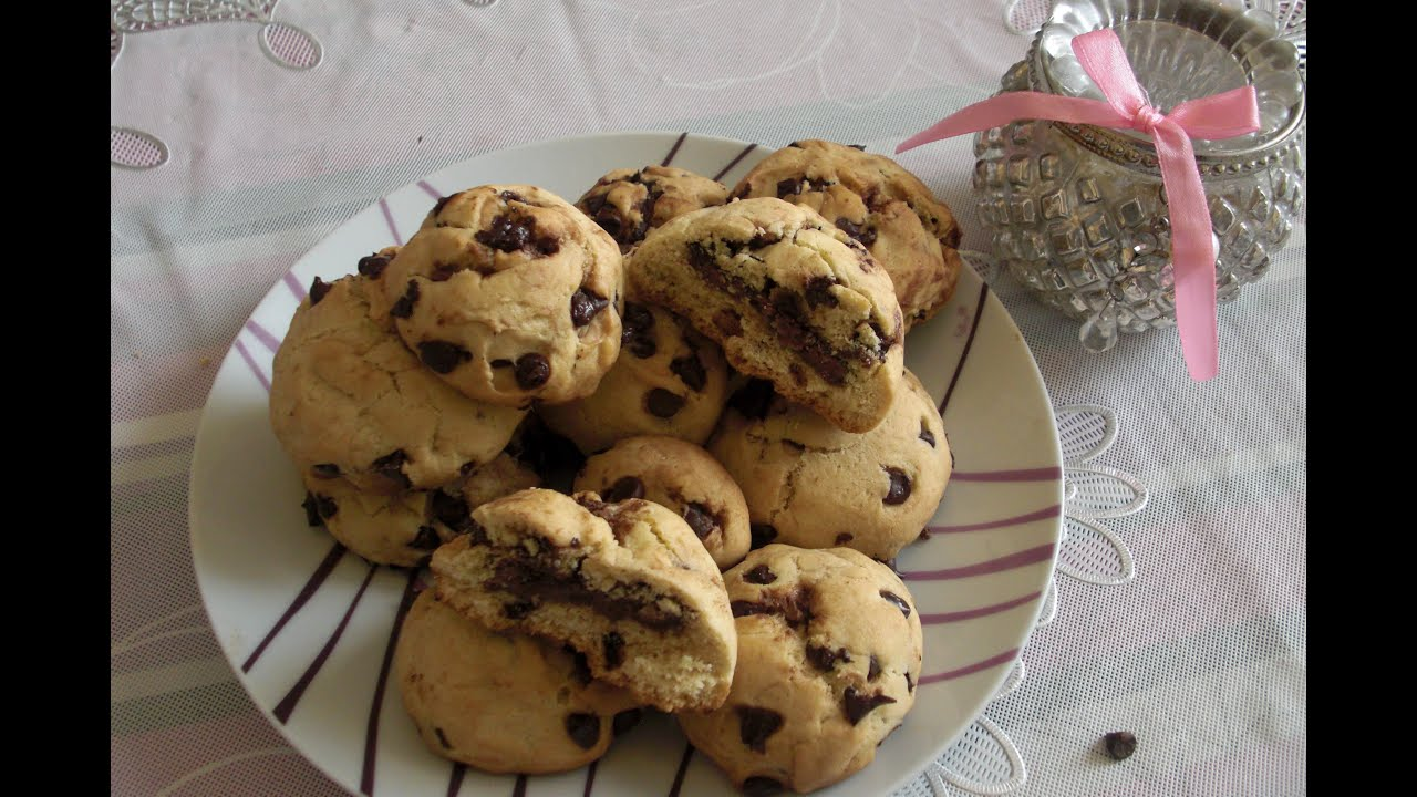 recette cookies fourr s au nutella youtube. Black Bedroom Furniture Sets. Home Design Ideas