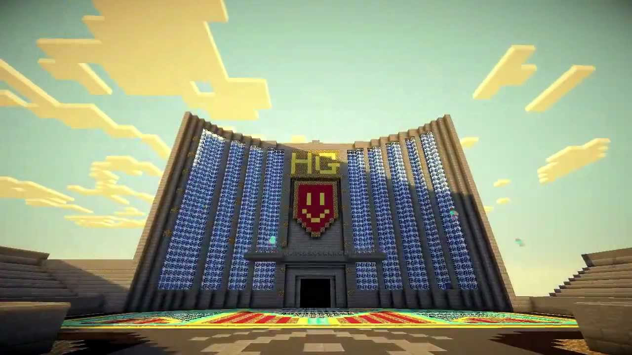 Minecraft Timelapse The Capitol Hunger Games YouTube - Minecraft us capitol map