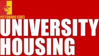 Choose University Housing - Pittsburg State University