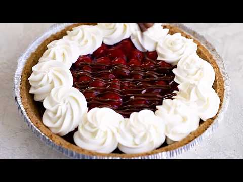 No-Bake Cherry Chocolate Pie