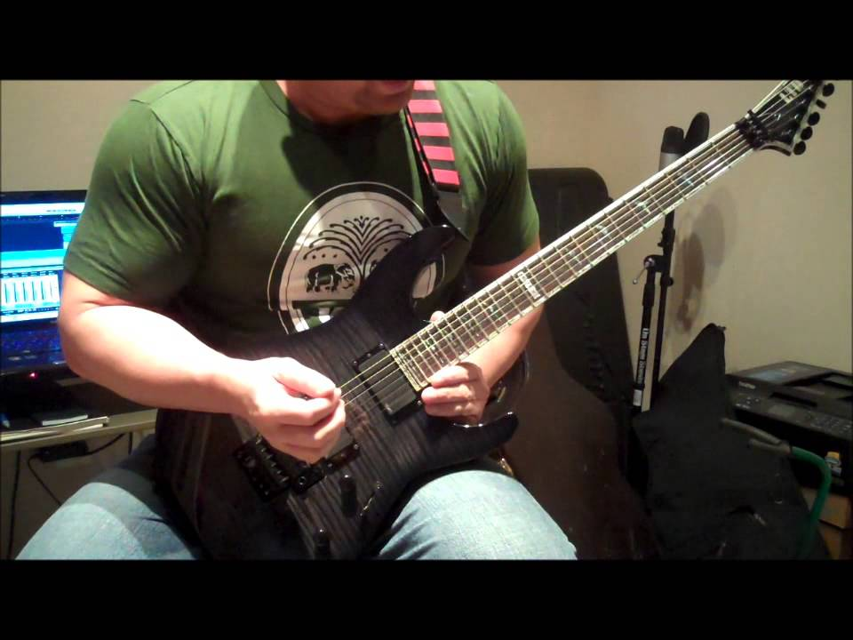 playing guitar solos without string noise jason 39 s metal lead guitar lessons youtube. Black Bedroom Furniture Sets. Home Design Ideas