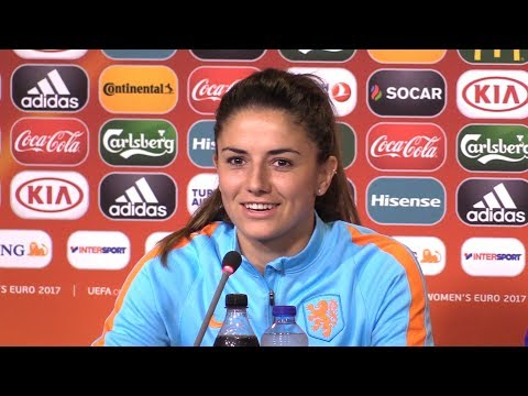 Holland Press Conference Ahead Of Euro 2017 Semi-Final - Full Press Conference