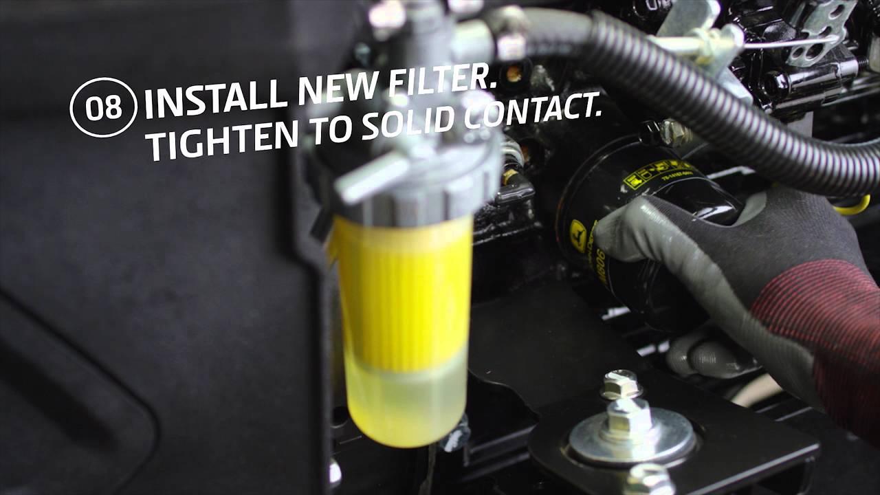 John Deere La110 Engine Diagram How To Change Your Engine Oil And Filter John Deere