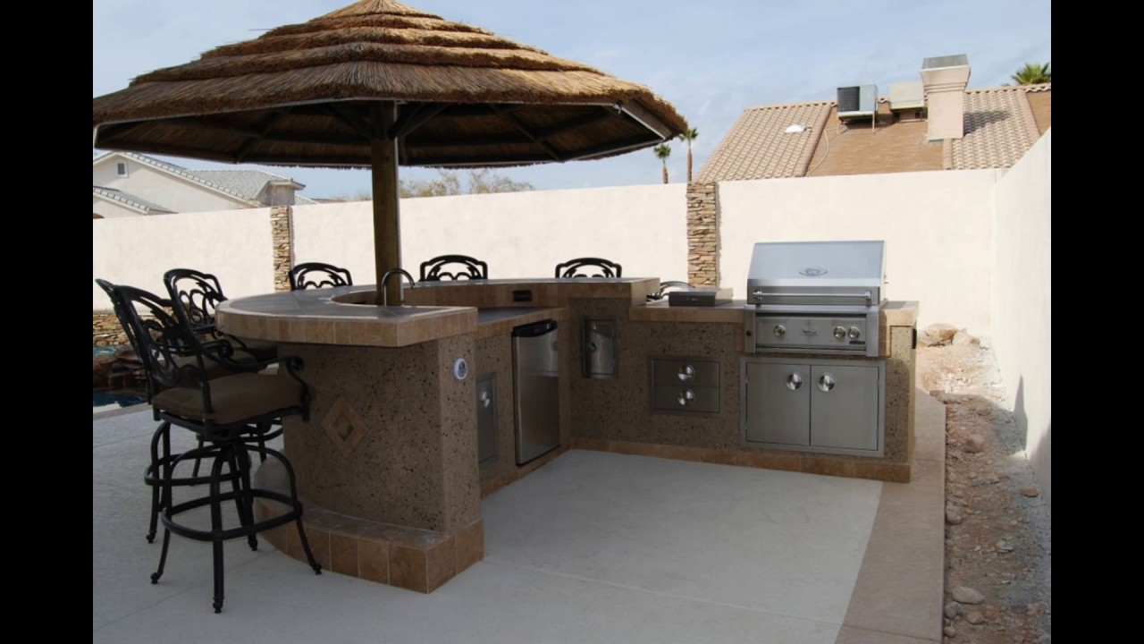 Prefabricated Outdoor Kitchen Islands  YouTube