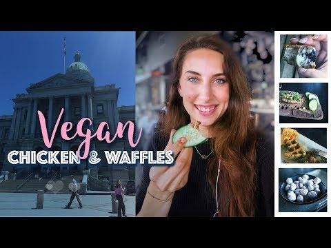 VEGAN Travel Vlog Denver Colorado | Michelle Mills