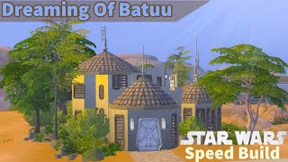 Dreaming Of Batuu | Sims 4 Speed Build | No CC | Sims 4 Journey To Batuu