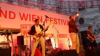 "WANDA ""Bleib wo du warst"" Wien Festival Michaelerlatz 1. Juni 2015"