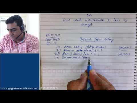 House Rent Allowance Class 3