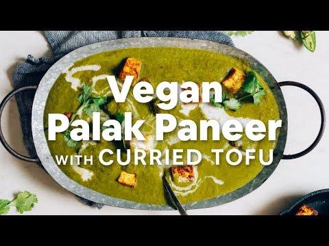 Vegan Palak Paneer with Curried Tofu | Minimalist Baker Recipes