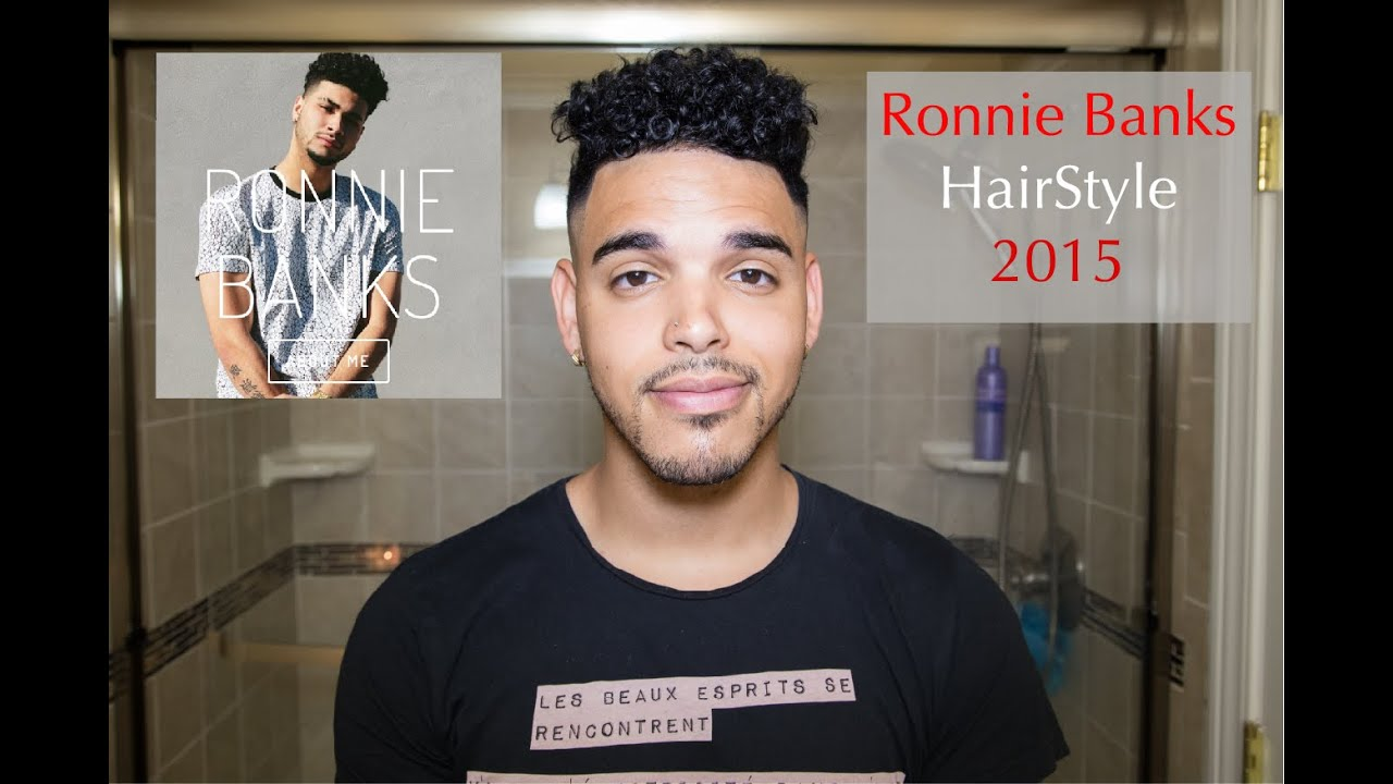 Straight perm for mixed hair - Ronnie Banks Hairstyle 2015 Mens Mixed Curly Hair Mulattolee