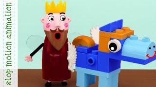Unicorn of Lego,King Thistle makes a Lego Pony, King Thistle collected unicorn