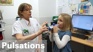 Le traitement de l'asthme chez l'enfant: apprendre à vivre avec